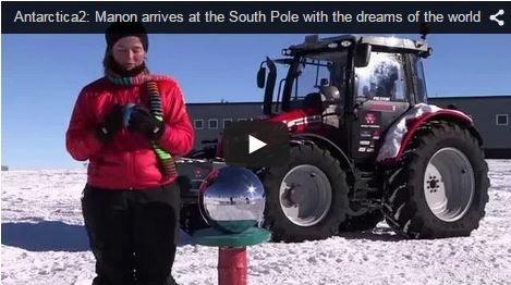 Revue des réseaux - Un tracteur au pôle Sud, un Fendt en New Holland et un New Holland en Fendt