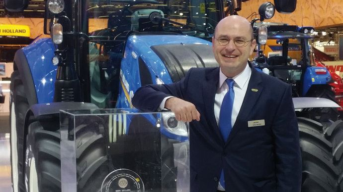 Nomination - Gilles Mayer prend les rênes de New Holland France