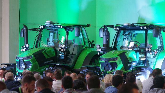 Tracteur Deutz-Fahr - Du quatre cylindres dans lasérie 6