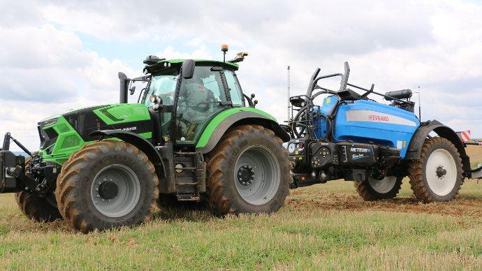 Électronique embarquée - Agrosky: les solutions d'agriculture de précision de Deutz-Fahr se développent