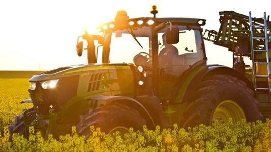 Technologie moteur - Un tracteur polycarburants chez John Deere