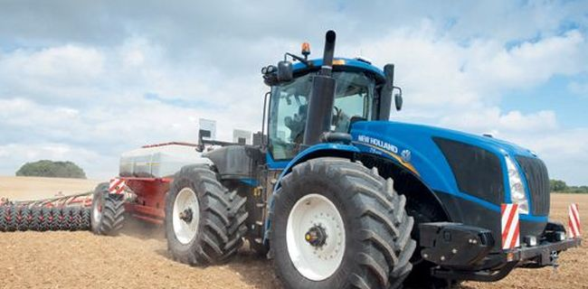 Tracteur New Holland T9 Plus de puissance et plus de productivité