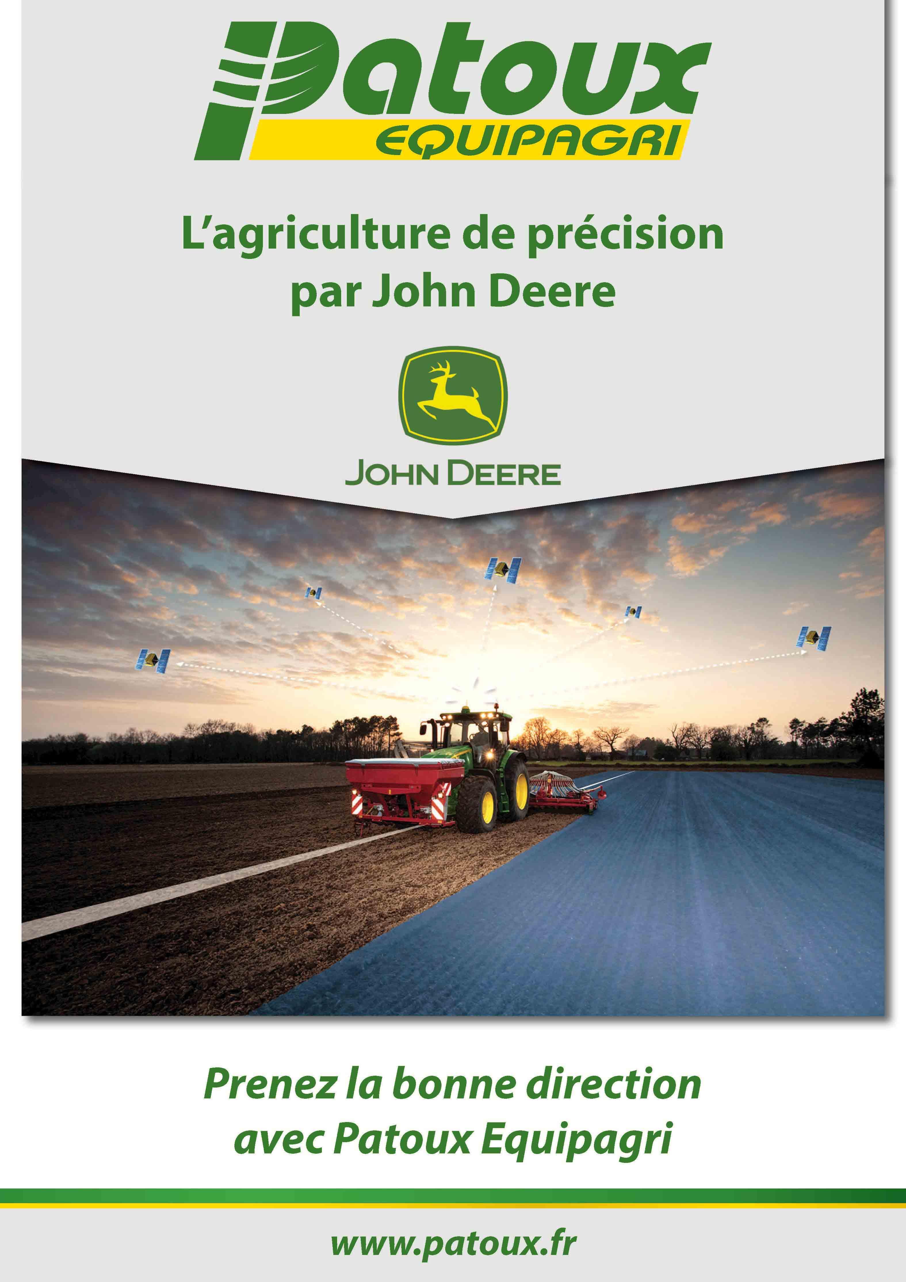 L'agriculture de precision par John Deere et Patoux Equipagri