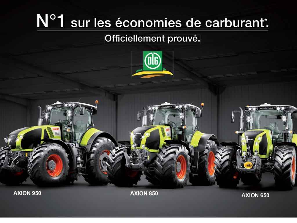 CLAAS, n°1 sur les économies de carburant !