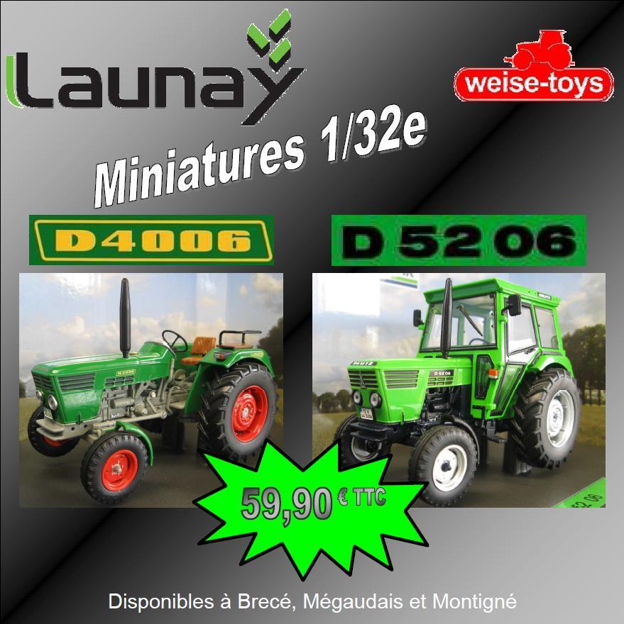 Miniatures Deutz D4006 D5206