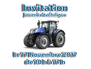 Invitation journée technique le 17 Novembre à Herlin le Sec