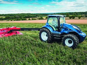 New Holland, un concept design pour ses tracteurs au biométhane