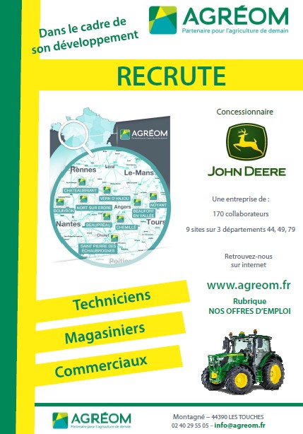 RECRUTEMENT AGREOM