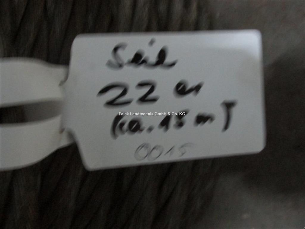 Divers Stahlseil 22 mm