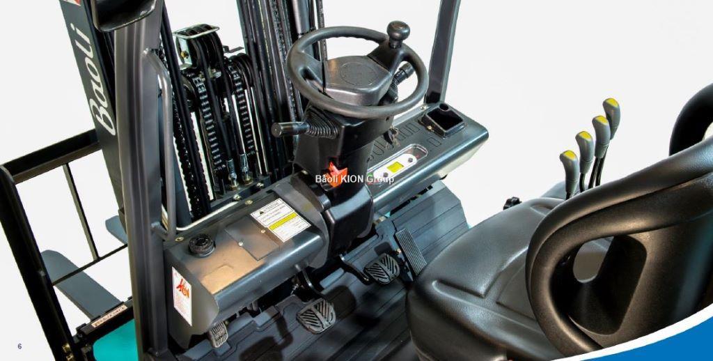 BAOLI GAZ 1,5T Triplex 4500mm 3 fonctions