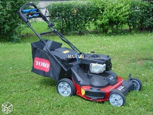 Toro timesaster d 39 occasion tondeuse 190 2017 - Tondeuse toro prix ...
