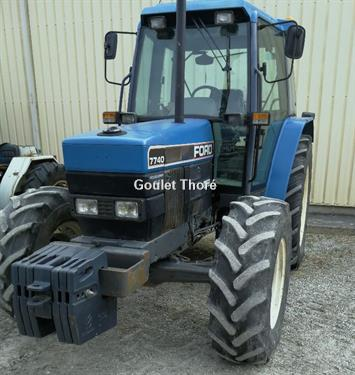New Holland Ford >> Second Hand Ford New Holland 7740 Farm Tractor 1996