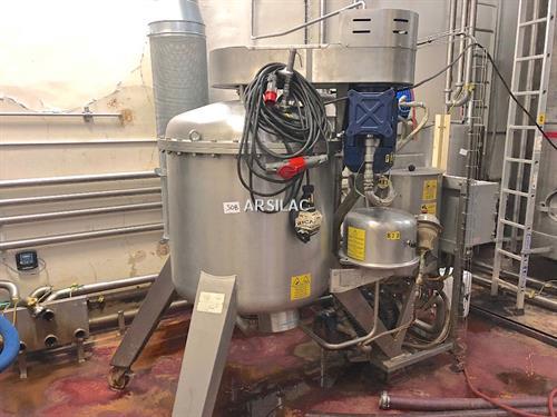Della Toffola - Filtre à terres ATEX - 300 HL/h