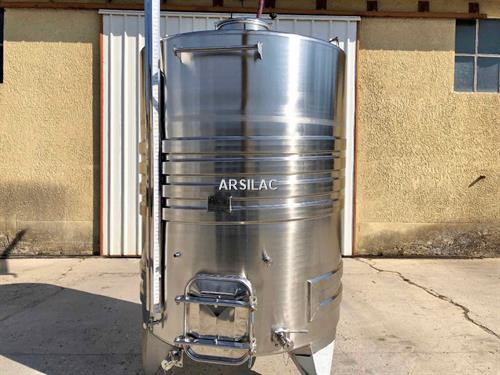ARSILAC - NEUF - Cuve inox 304 - 43 HL