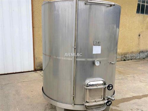ARSILAC - Cuve inox - 50 HL