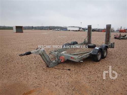 Ecim 2AF350 Equipment Trailer T/A