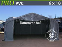 Divers Lagertelt Dancover Lagertelt PRO 6x18x3,7m PVC, Gr