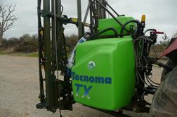 Tecnoma TX Régulair 1000 l Rampes GDM 18 M. DPAE