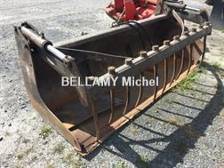 Mailleux Multibenne BMS235 attelage MX 2m35