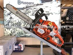 Husqvarna 560XP mit Freizeitjacke