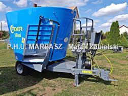Divers Paszowóz FIDER 10m3 / Futtermischwagen