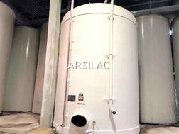 Divers - Cuve fibre cylindrique - Fond plat - 300 HL