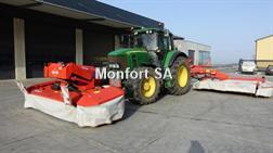 John Deere 5100 R + MX 406