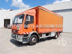 Iveco 150E23 Camion A Rideaux Coulissants 4x2