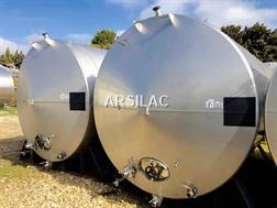 ARSILAC - Cuve inox - Avec drapeau - 170 HL