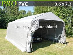 Divers Lagerzelt 3,6x7,2x2,68 m PVC Lagerhalle Zelthalle