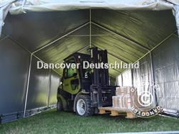 Divers Lagerzelt 5x10 m PVC Lagerhalle Zelthalle Garagen