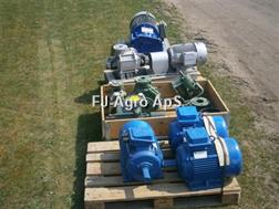Divers Pumper-motorer-hydranter