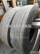 Michelin Paire de XZE 13R22.5