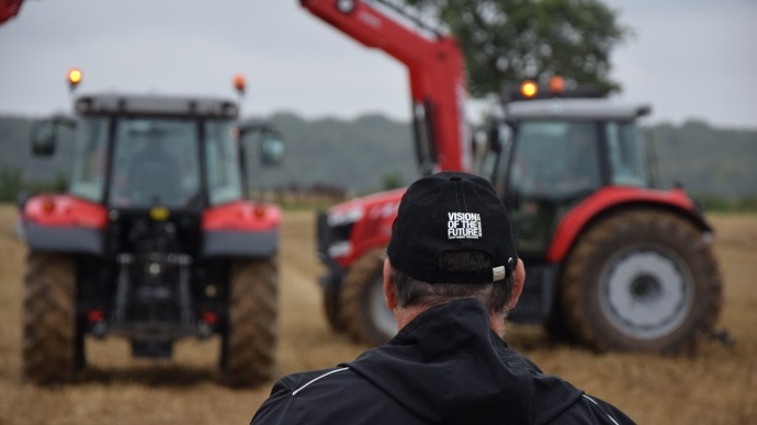 Vision of the future 2014 - Que nous prépare Massey Ferguson pour les tracteurs de demain ?