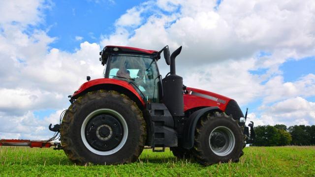 Essai du tracteur Case IH Magnum 380 - La puissance à l'état pur