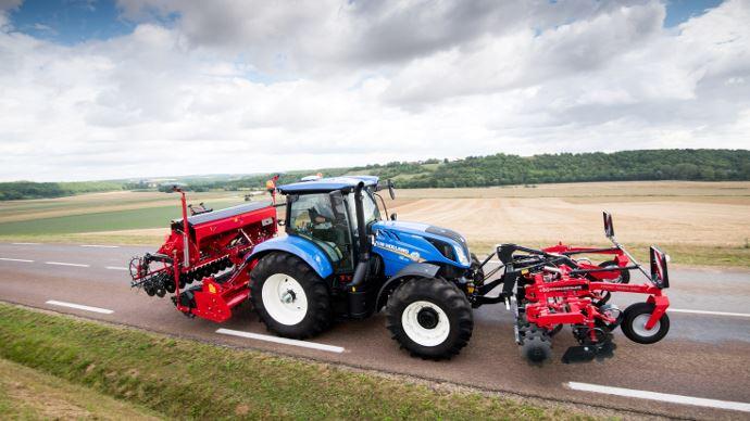 Nouveauté tracteur New Holland - T6 Dynamic Command: transmission huit rapports et double embrayage