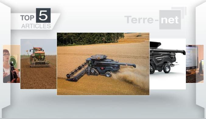 Top articles - Moissonneuse Massey Ferguson Ideal, Agritechnica, ATR sur le devant de l'actu