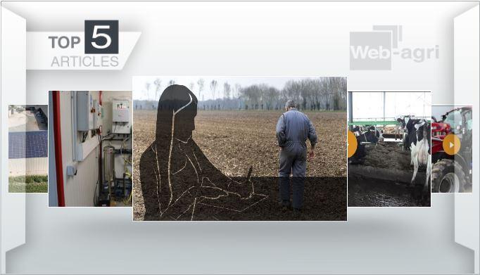 Les tops de la semaine - Suicide des éleveurs, ferme des 1000 vaches et bien-être, essai Case IH Luxxum