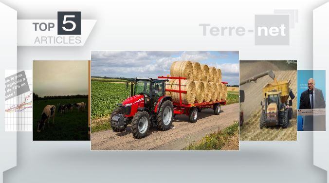 Top articles - Flambée du prix des pulvés, ciel jaune en Bretagne et nouveautés Massey Ferguson