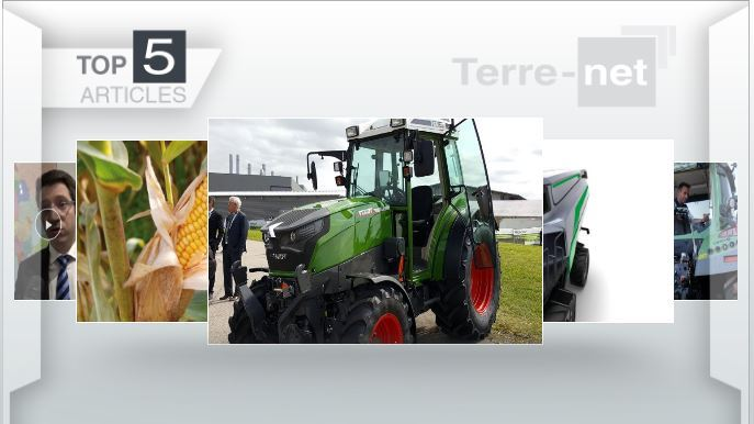 Top articles - Smart Cab et Fendt e100 Vario : le futur du machinisme à l'honneur