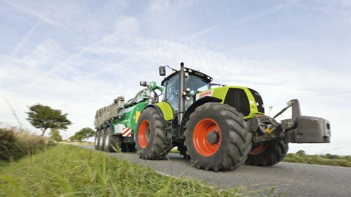 La cote agricole d'occasion tracteur - Claas Axion 820, le constructeur passe à l'Axion!