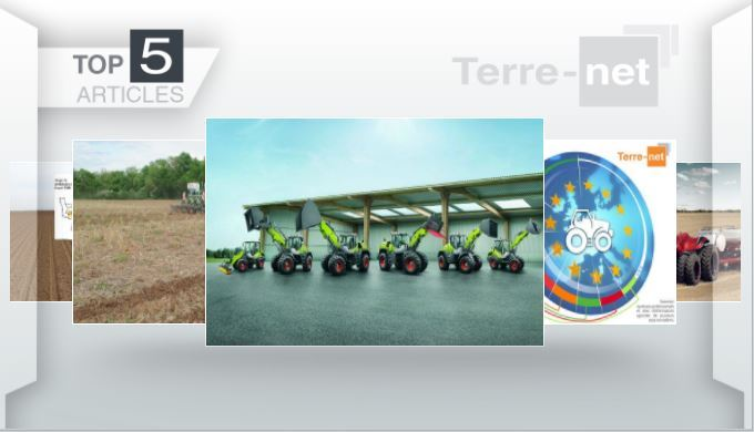 Top articles - Le machinisme à l'honneur avec Claas, Case IH et les parts de marché tracteurs