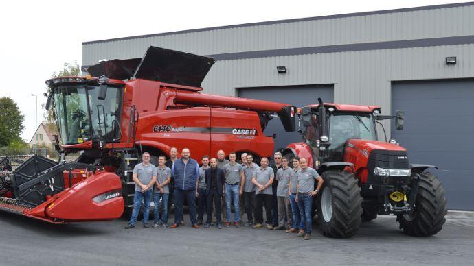 Réseau de distribution Case IH - Km Agri devient revendeur exclusif dans le Loiret