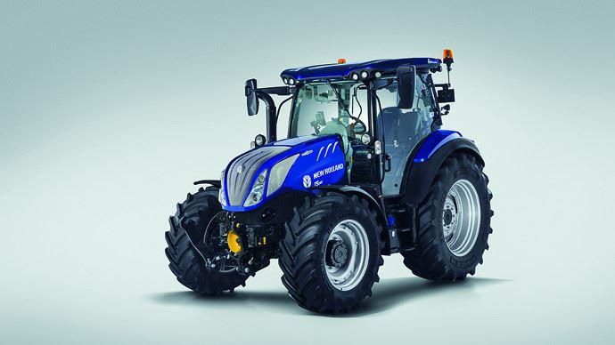 New Holland T5 AutoCommand - L'élevage aussi a droit à un tracteur confortable, productif et polyvalent!