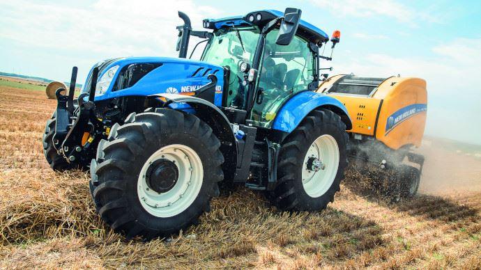 Tracteur six cylindres - Trois modèles complètent la gamme T6 de New Holland
