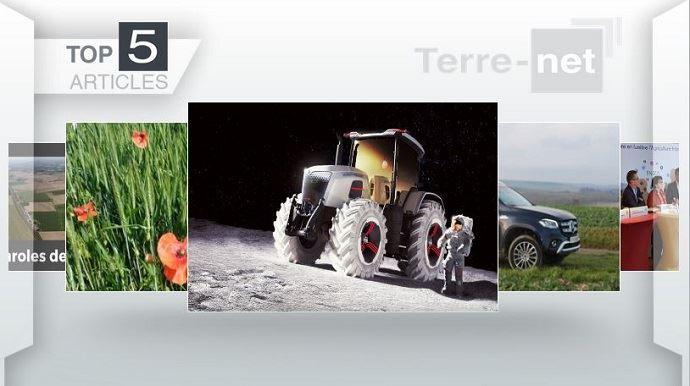 Top articles - Le tracteur du futur chez Massey Ferguson et les ZNT sur le devant de l'actu