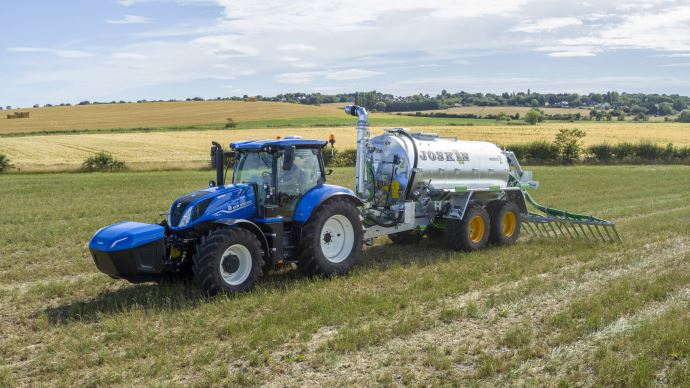 Énergie alternative - Premiers tours de roues imminents pour le tracteur New Holland T6 Methane Power