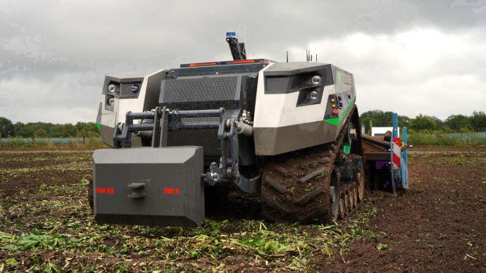 Robotique agricole - Bientôt des robots 100% autonomes chez Claas?