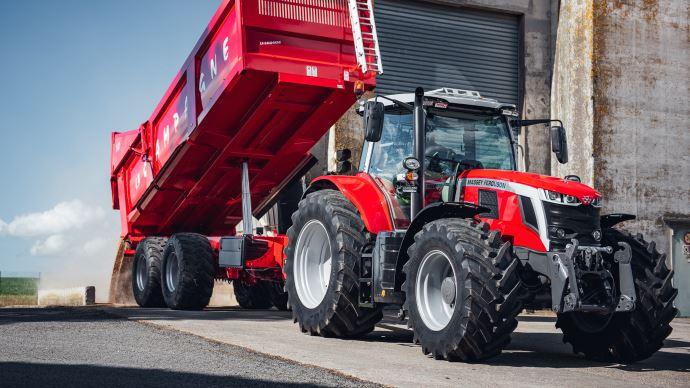 Nouveauté tracteur - Massey Ferguson dévoile sasérie MF 7S, au look néo-rétro emblématique