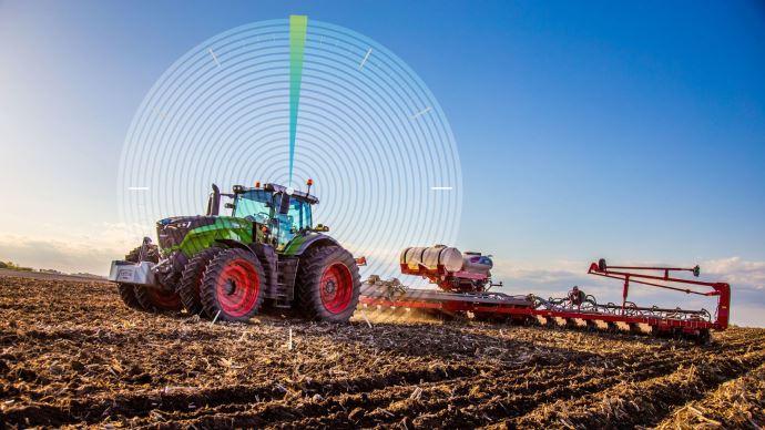 Guidage GPS - Les récepteurs Novatel alimentent le Fuse Smart Farming des tracteurs Fendt